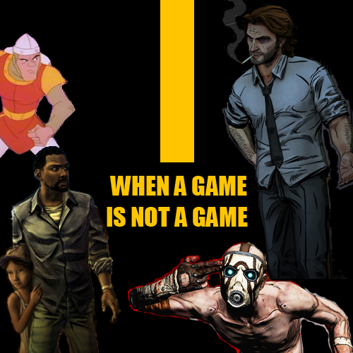 When A Game Is Not A Game