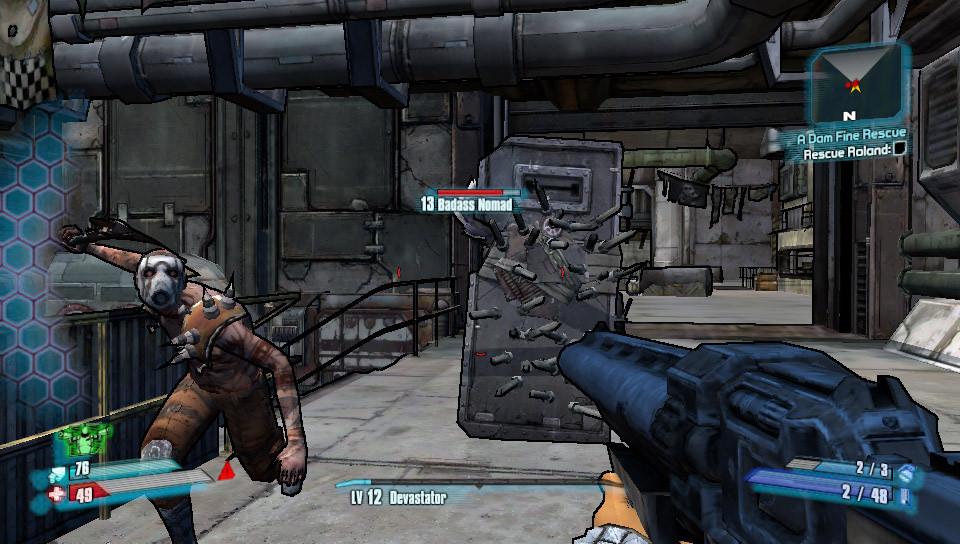 Borderlands 2 Vita Combat