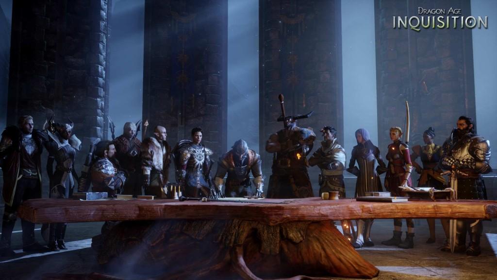 Dragon Age: Inquisition - War Table Scene