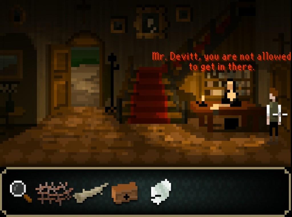 The Last Door - Dialog Example
