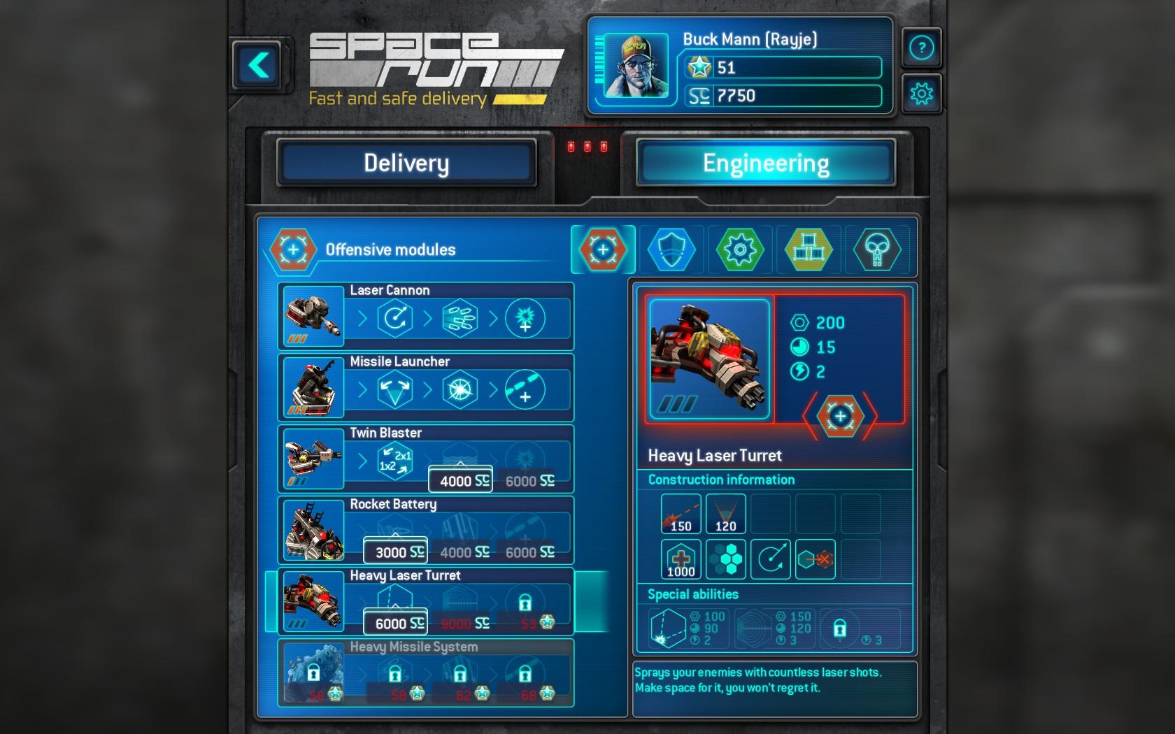 Space Run Engineering