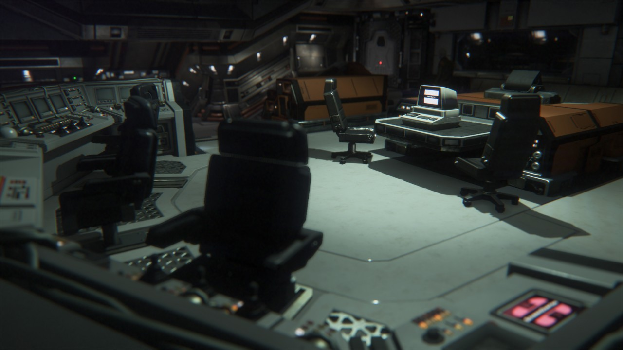 Alien Isolation Environments