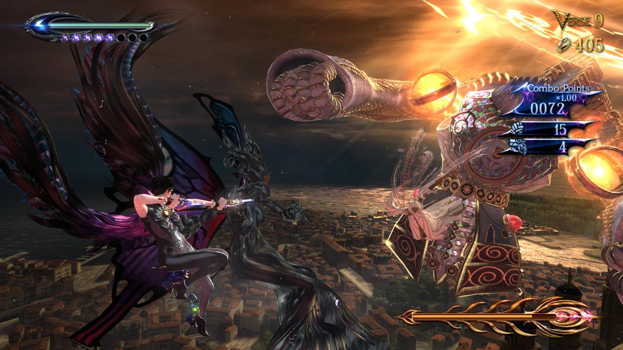 Bayonetta 2 Boss Fights