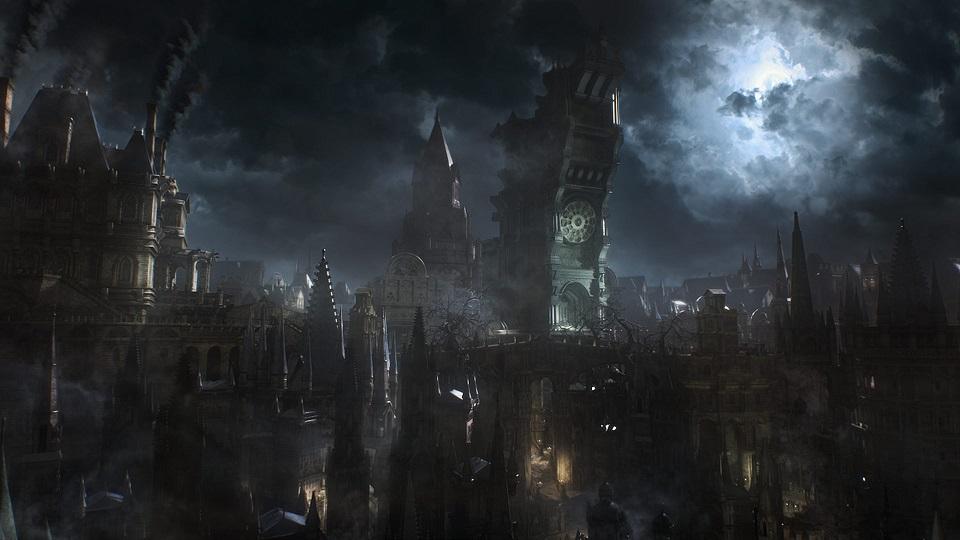 Bloodborne's City Art