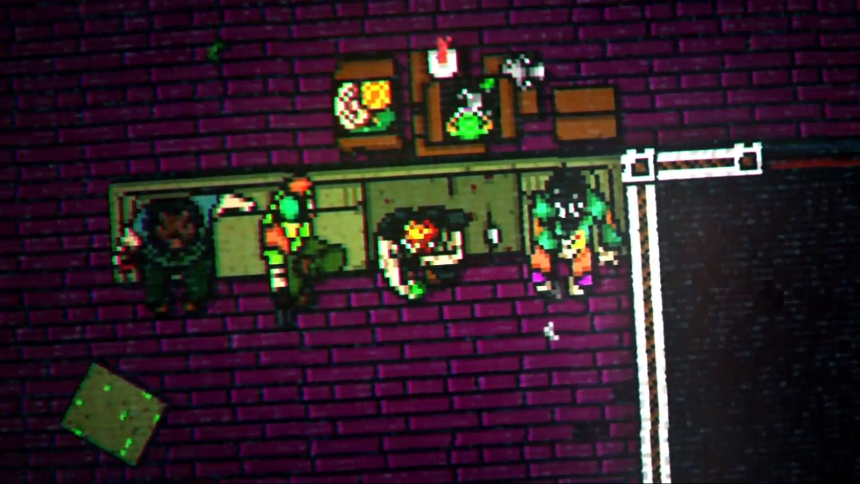 Hotline Miami 2: Wrong Number The Fans