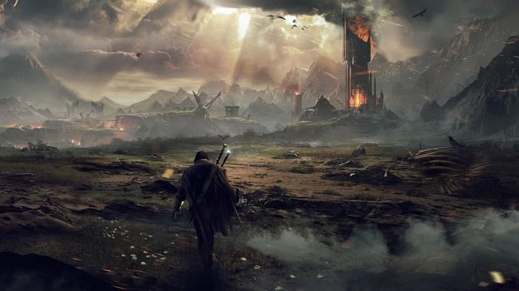 Shadow Of Mordor Mordor Landscape