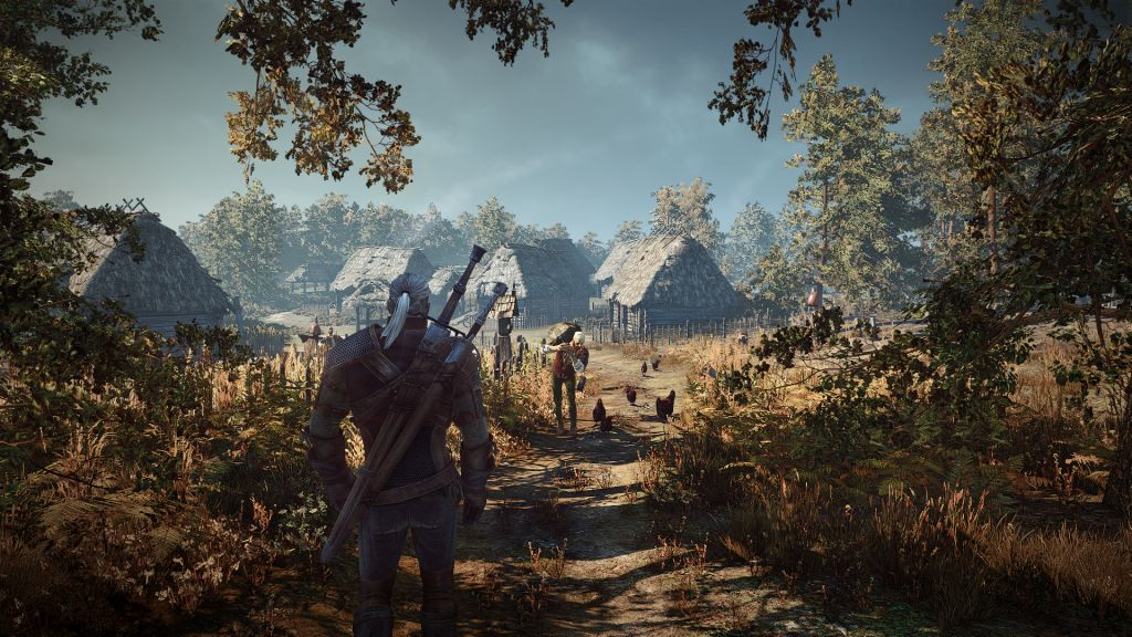 The Witcher 3 Wild Hunt A Lonely Village