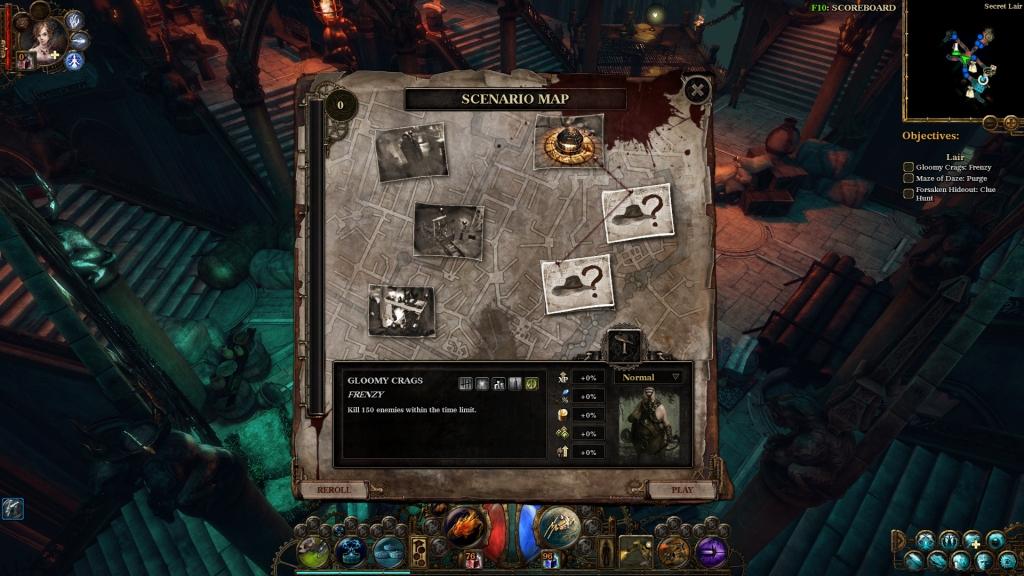 The Incredible Adventures of Van Helsing II Scenarios