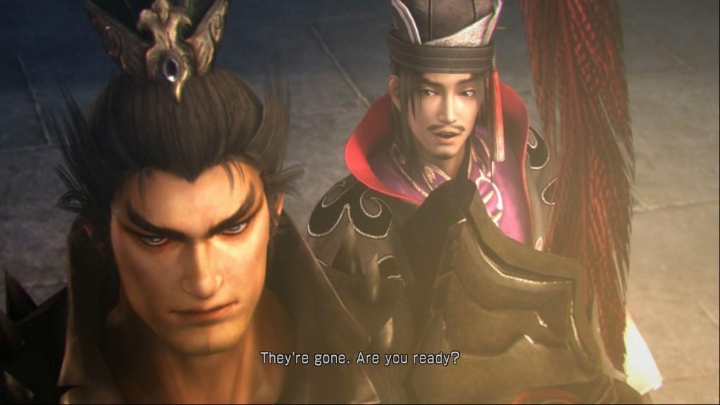 Lu Bu with Chen Gong