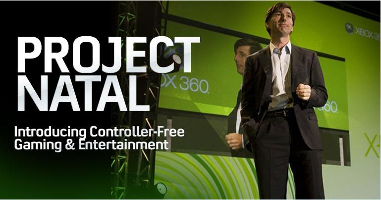 Project Natal Xbox 360