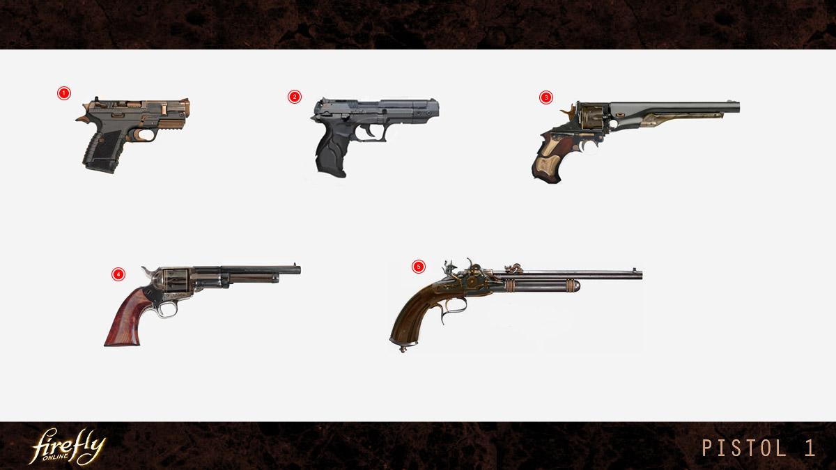 Firefly Online Pistol