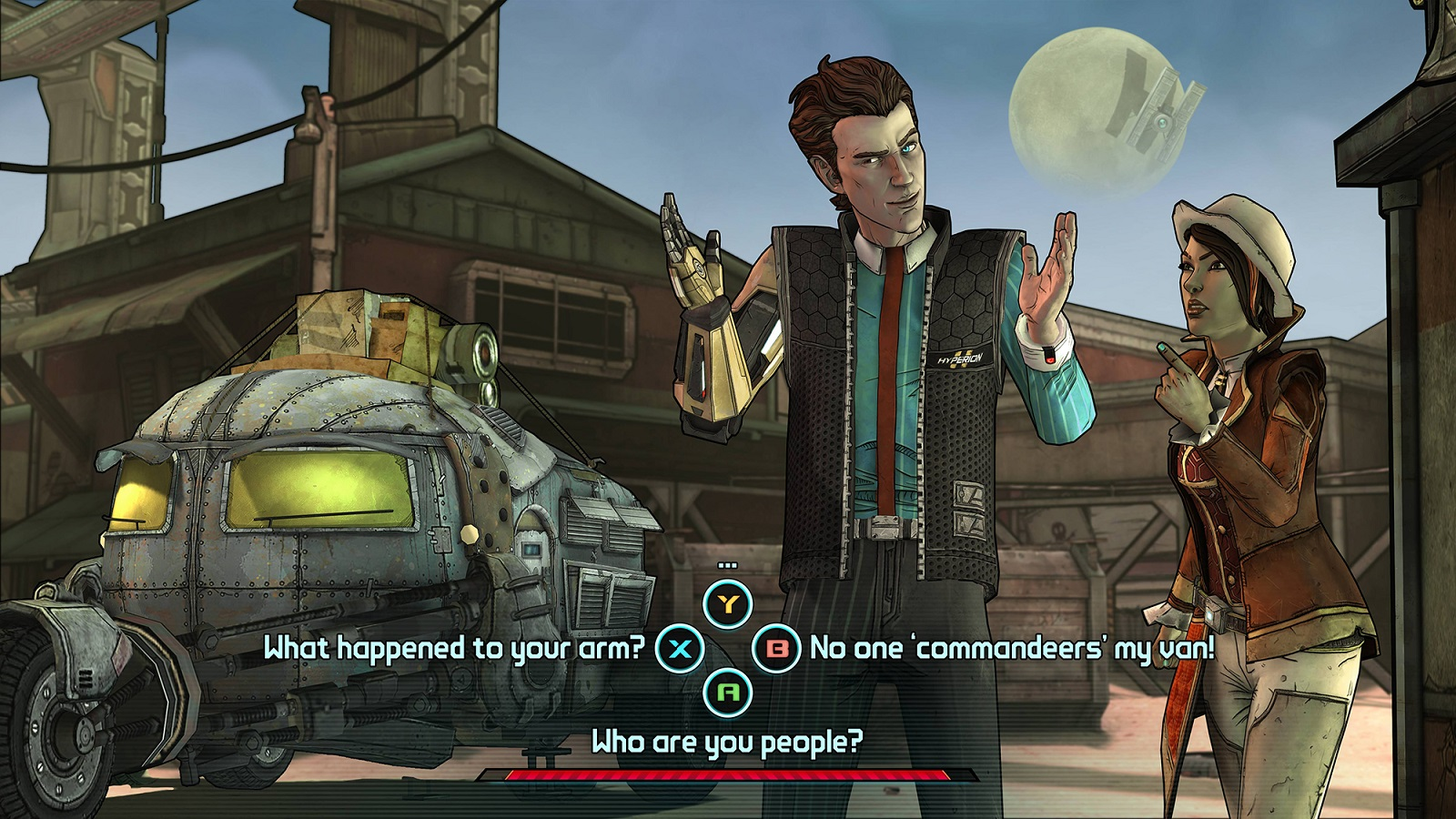 Tales From The Borderlands Conversation