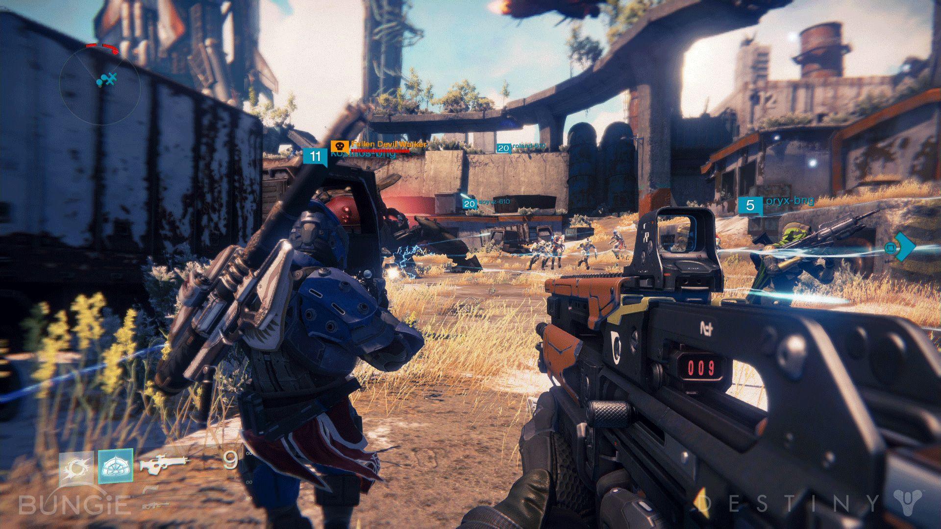 Destiny Scout Rifle