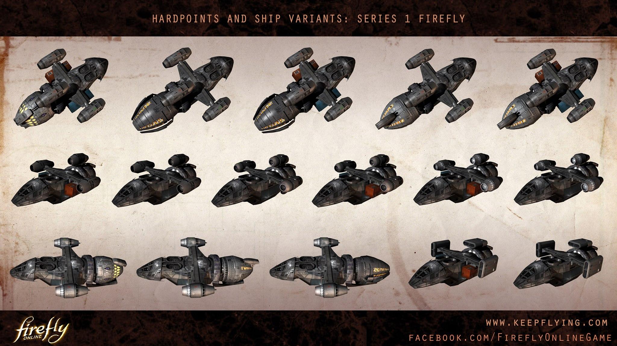 Firefly Online Ship Art