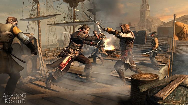 Assassin's Creed Rogue Shay Patrick Cormac Fight Scene