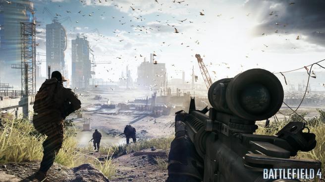 """Battlefield 4 Screenshot: """"Construction"""""""