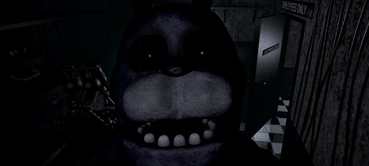 Bonnie Bunny Peering Into Camera