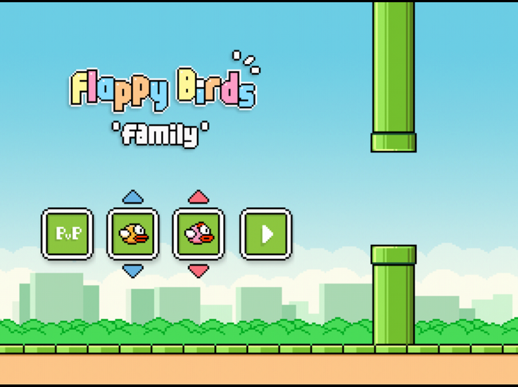 The Flappy Bird Saga Continues With Flappy Bird Family