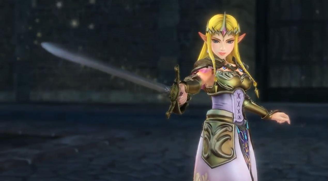 Hyrule Warriors Zelda Enters as Playable Character