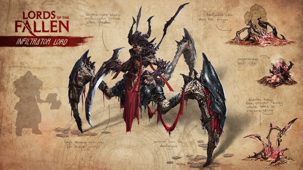 Lords of the Fallen Infiltrator Lord Concept