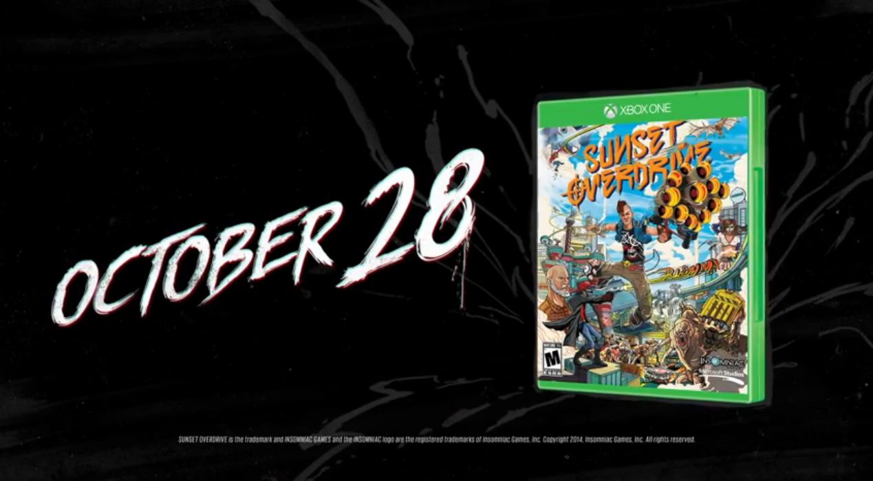 Sunset Overdrive Above and Beyond