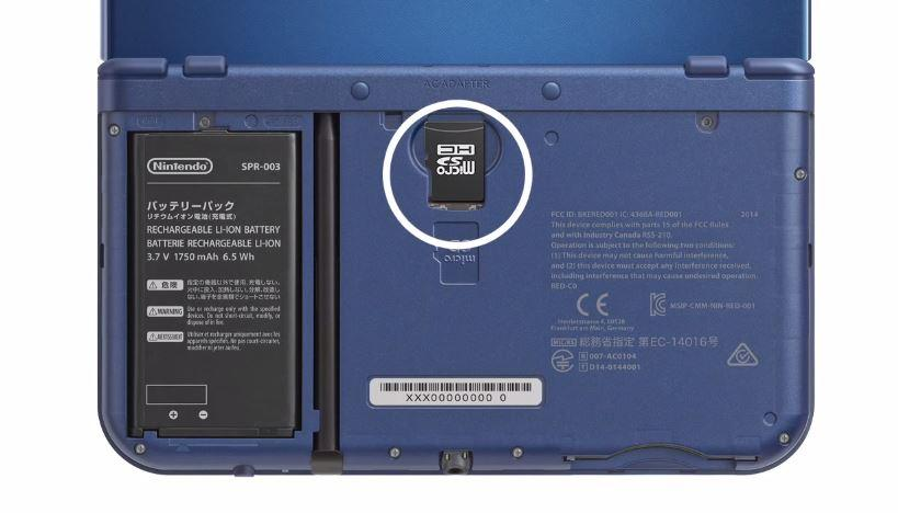 New Nintendo 3DS MicroSD