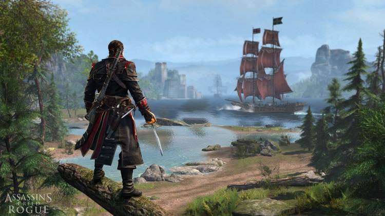 Assassins Creed Rogue Inlet Forest