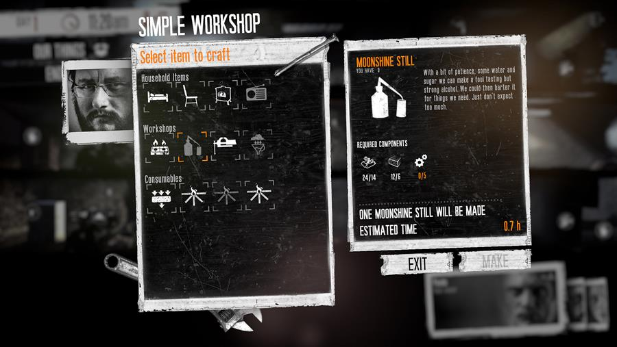 This War of Mine Crafting