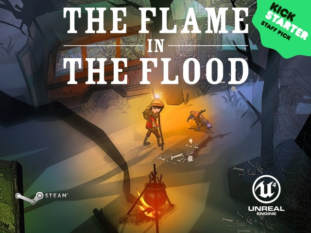 'The Flame In The Flood' Meets Kickstarter Goal, Aims For PS4