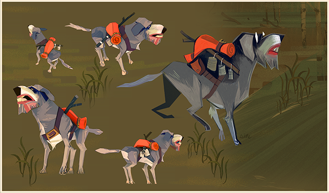 Flame in the Flood Aesop