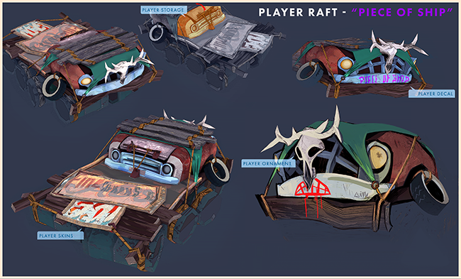 Flame in the Flood Raft