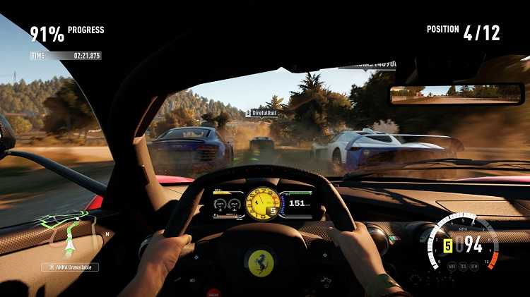 Forza Horizon 2 Cockpit View