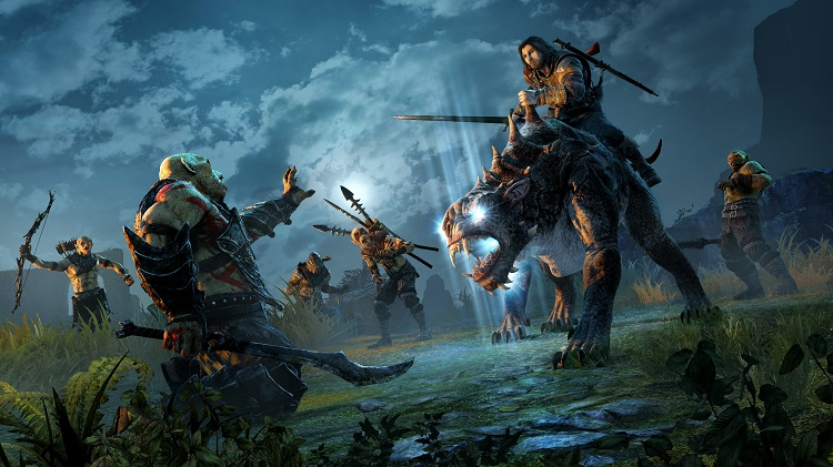 Shadow Of Mordor Caragor