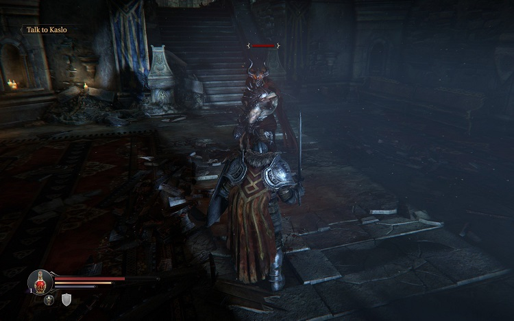 Lords of the fallen combat