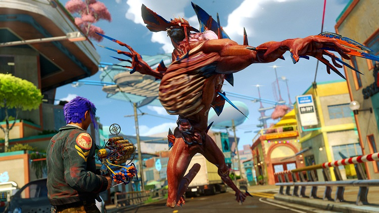 Sunset Overdrive Giant Monster