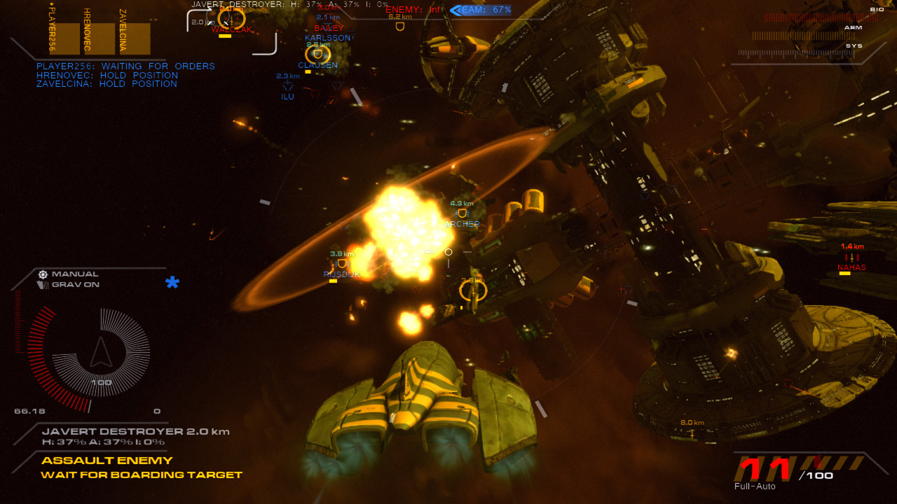 Angels Fall First Space Combat