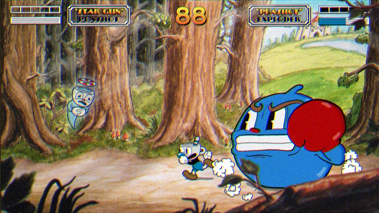 Cuphead Game Multiplayer Enemy