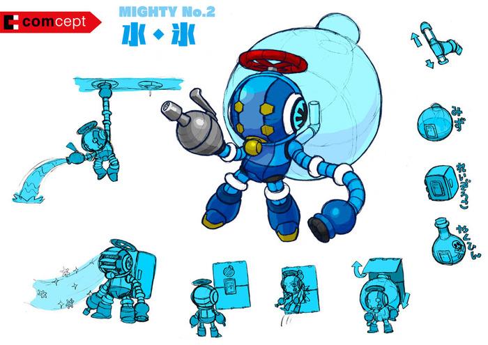 Mighty No 9 Mighty No 2 Concept