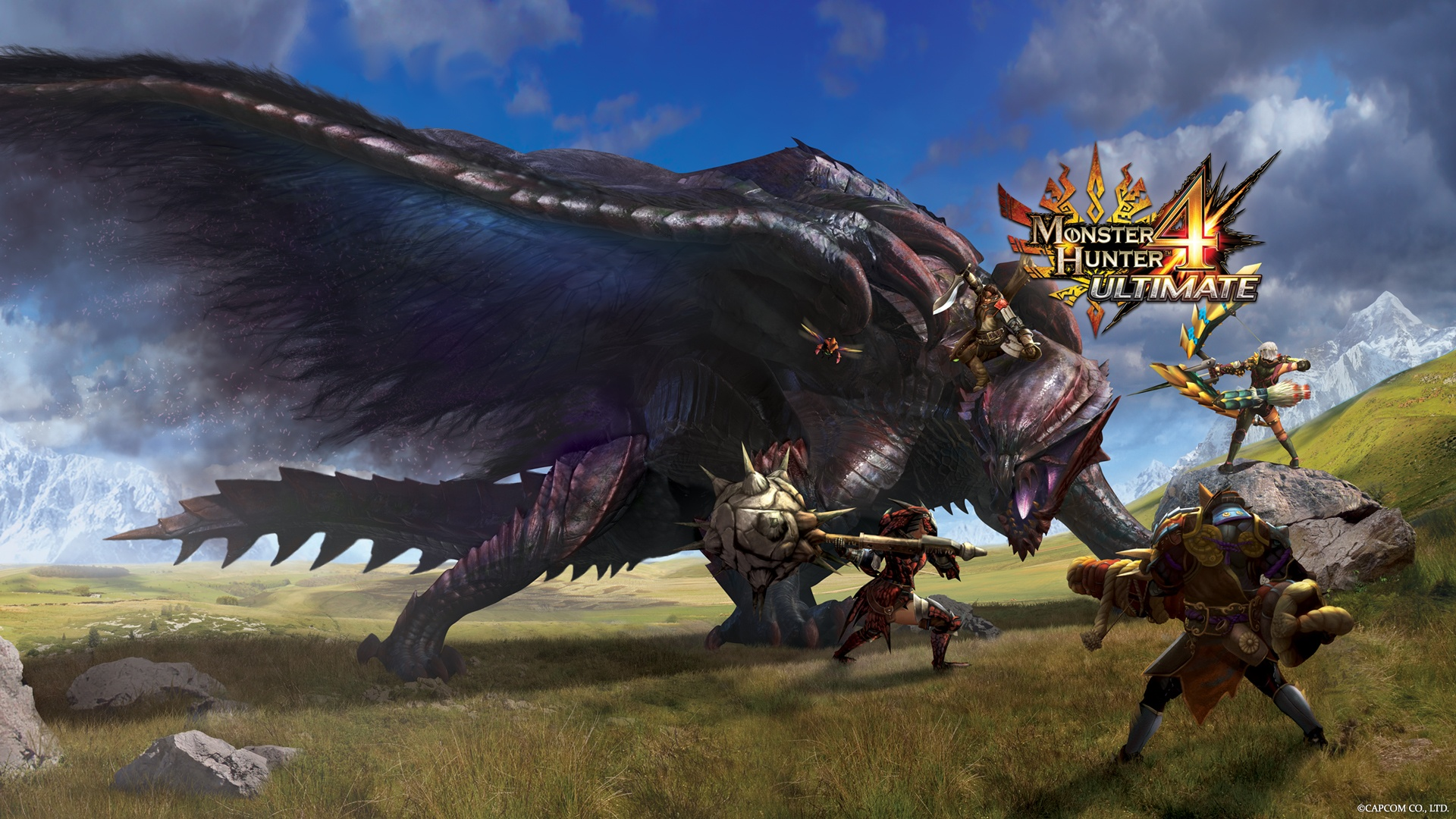 Monster Hunter 4 Ultimate is shaping up to be the most accessible of the notoriously difficult series, with new weapons, portable online multiplayer, and loads upon loads of customization. February can't come soon enough. Image couresy of pauseyourgame.com