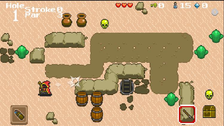 Wizard Gold RPG Desert