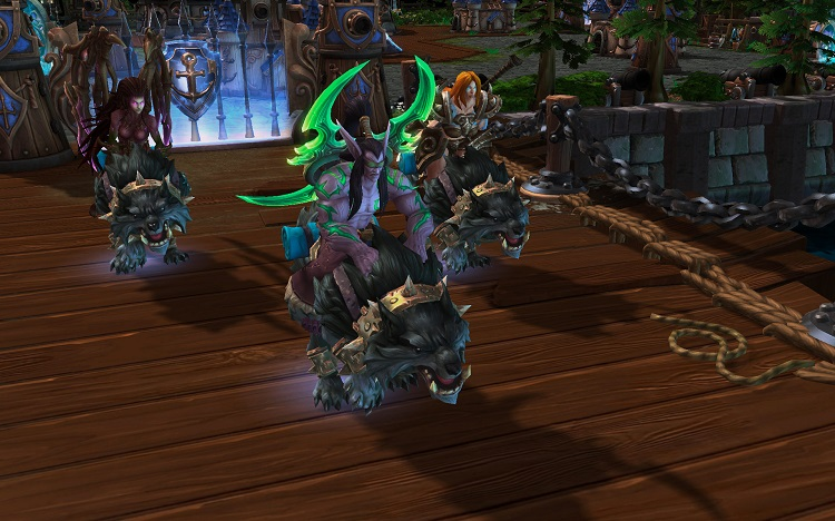 Heroes Of The Storm Mounts
