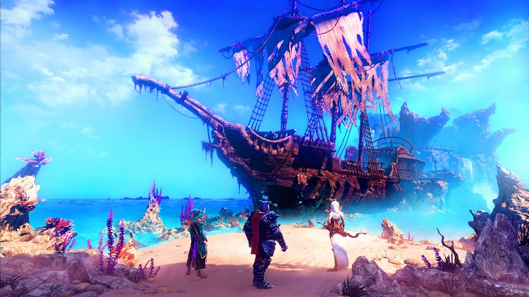 Trine 3 Shipwreck