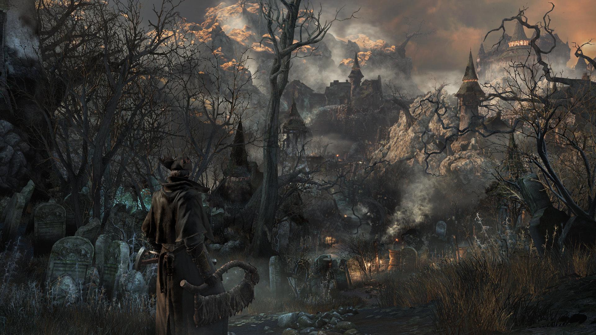 bloodborne-forest