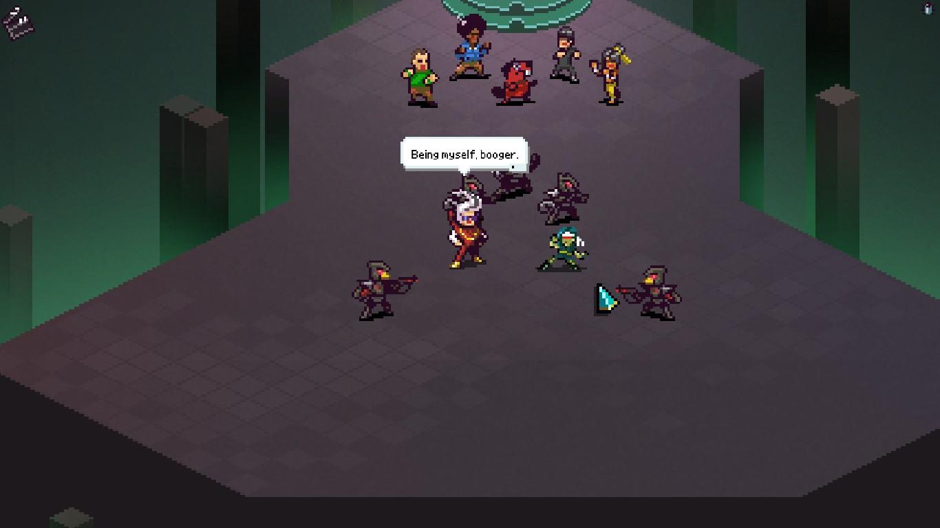 Chroma Squad Dialogue