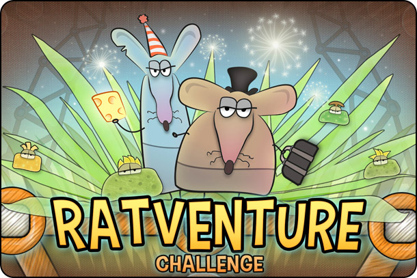 Ratventure Challenge offers up solid physics-based fun
