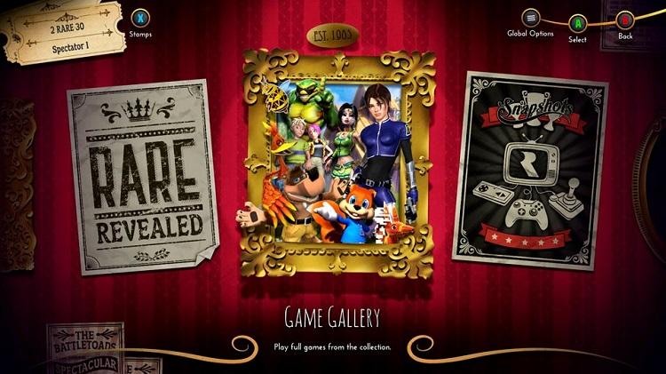 Game Gallery Rare Replay