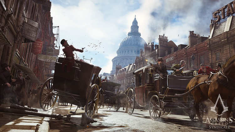 Assassin's Creed Syndicate Carriage Battle