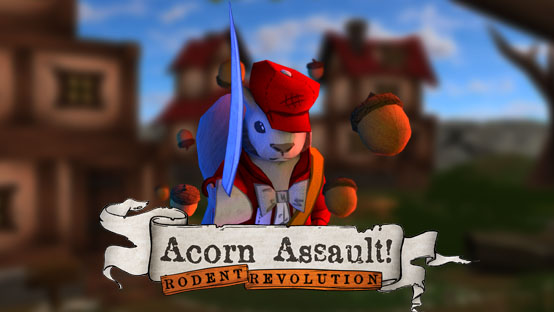 'Acorn Assault: Rodent Revolution' features squirrels, anarchy, and powdered wigs