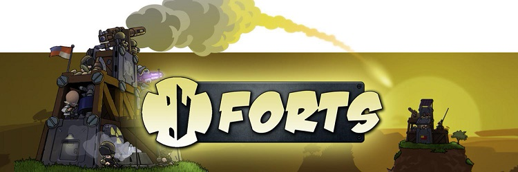 Build mighty outposts and topple your enemies in 'Forts'