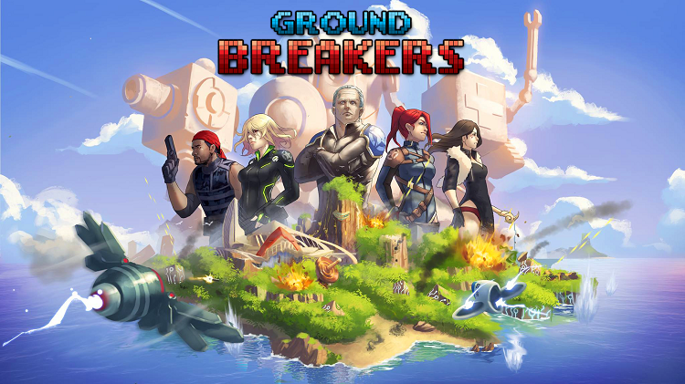 Exprience mechanized mayhem and robotic turn-based strategy in 'Ground Breakers'